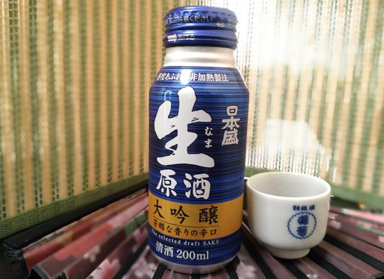 日本酒 生原酒 ボトル缶